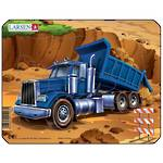 Larsen Puzzle Construction Vehicles Mini Dumptruck (7pc)