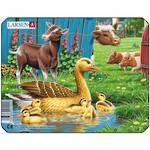 Larsen Puzzle Farm Animals Duck 7pc