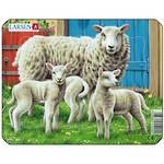 Larsen Puzzle Farm Animals Sheep 7pc