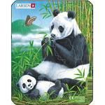 Larsen Puzzle Panda Family