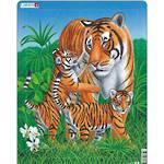 Larsen Puzzle Tiger Family