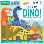 Mudpuppy Magnetic Board Game Let's Go Dino
