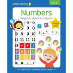 Little Genius - Numbers Magnetic Board And Magnets