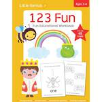 Little Genius 123 Fun Workbook