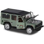 Majorette Deluxe Cars Land Rover Defender 110 Green
