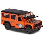 Majorette Deluxe Cars Land Rover Defender 110 Orange