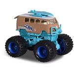 Majorette Monster Rockerz VW T1 Surf Bus Blue/Beige