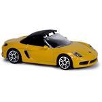 Majorette Premium Cars Porsche 718 Boxster Yellow