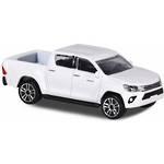 Majorette Street Cars Toyota Hilux White