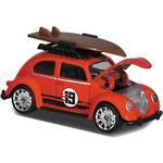 Majorette VW Beetle Surfing Red