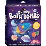 Make Your Own Mini Galaxy Bath Bombs
