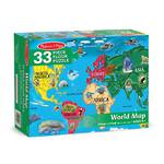 Melissa & Doug Floor Puzzle World Map