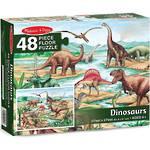 Melissa & Doug Floor Puzzle Dinosaurs