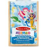 Melissa & Doug Magnetic Dress Up Playset Mermaid