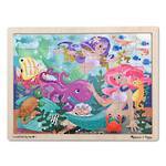 Melissa & Doug Mermaid Fantasea Wooden Jigsaw Puzzle