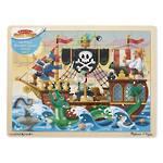 Melissa & Doug Pirate Adventure Wooden Puzzle (48pc)