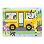 Melissa & Doug Sound Puzzle The Wheels on the Bus 8pc