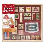 Melissa & Doug Stamp-A-Scene Farm Wooden Stamps