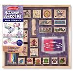 Melissa & Doug Stamp A Scene Fairy Garden Wooden Stamps