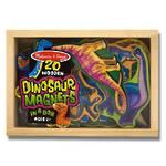 Melissa & Doug Wooden Dinosaur Magnets