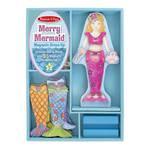 Melissa & Doug Magnetic Dress Up Merry Mermaid