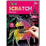 Mini Scratch Art Unicorns