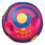 Mini Wiggly Giggly Ball Pink with Blue Swirls