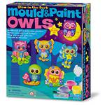 Mould & Paint Owls Glow in the Dark