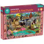 Mudpuppy Search & Find Puzzle African Safari (64pcs)