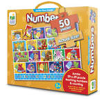 The Learning Journey Floor Puzzle Numbers