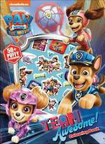 Paw Patrol Team Awesome Colouring Book
