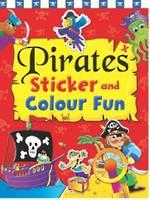 Pirates Sticker and Colour Fun Book 1
