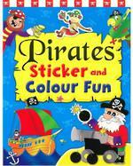 Pirates Sticker and Colour Fun Book 4
