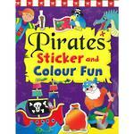 Pirates Sticker and Colour Fun Book 3