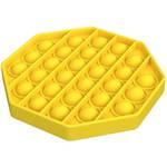 Popit Fidget Octagon Yellow