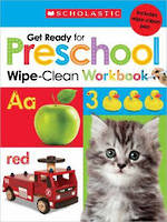 Get Ready for Preschool Wipe-Clean Workbook
