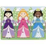 Melissa & Doug Princesses Peg Puzzle