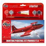 Airfix Start Set Model 1:72 Hunting Percival Jet Procost T.4