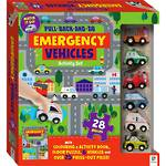 Pull Back and Go Emergency Vehicles Kit