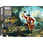 Puzzle Children's Gold Jigsaw Pirate Treasure