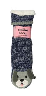 Reading Socks - Mottled Dog