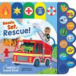 Ready, Set, Rescue! Emergency Vehicle Sound Book