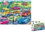 Larsen Puzzle Rescue Vehicles Puzzle