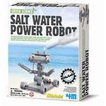 Green Science Salt-Powered Robot