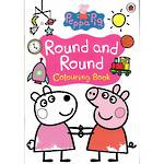 Peppa Pig Round and Round Colouring Book