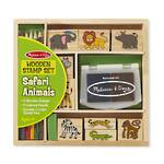 Melissa & Doug Safari Animals Wooden Stamps