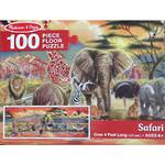 Melissa & Doug Floor Puzzle Safari