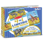 4 in 1 Linking Floor Puzzle Safari