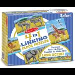 Melissa & Doug 4-in-1 Linking Floor Puzzles Safari