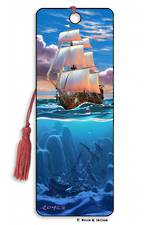 3D Bookmark Sail Away